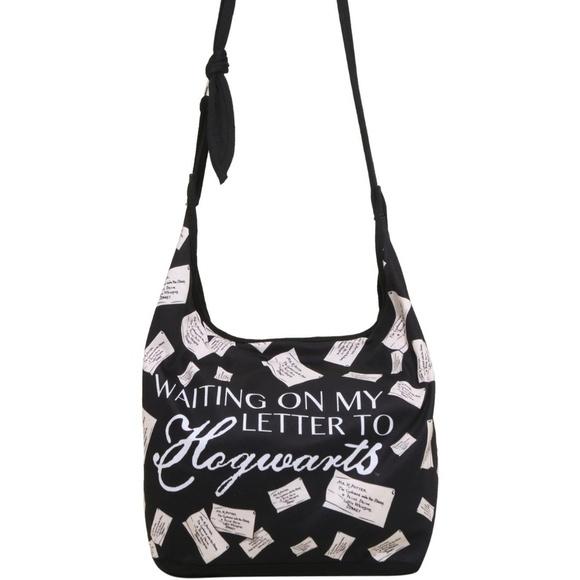Warner Bros. Handbags - Harry Potter Hobo Bag Purse Satchel